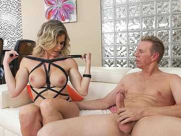 MILF Cory Chase seduces her married colleague