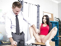 Crystal Rae is learning about the human body, but she would rather teach her professor about ...
