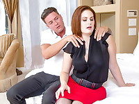Allison Moore had a tough day at work, luckily her husband knows how to help her unwind. He ...