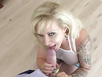 Thick, busty, big-assed swinger Ryan Conner is back in action! The legendary blonde bombshell ...