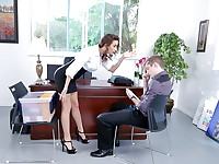 Ashley's employee just got dumped by his girlfriend and can't concentrate on work. ...