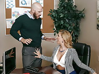 Johnny Sins has come to his wifes office to bring her a surprise lunch when he accidentally ...