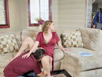 Blonde MILF Krissy Lynn is happy to cheat on her husband with Xander