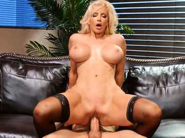 Nicolette Shea finds a reason to change sex position and ride dick as she wants