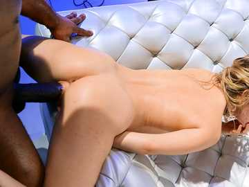 Davin King stretches little pussy of pretty blonde girl Lilly Lit with his shaft