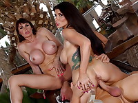 Eva Karera & Romi Rain are taking a little vacation away from their husband's but the ...