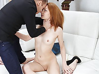 Simply being fucked in the pussy won't satisfy Rocky Fox. She wants something kinkier, ...
